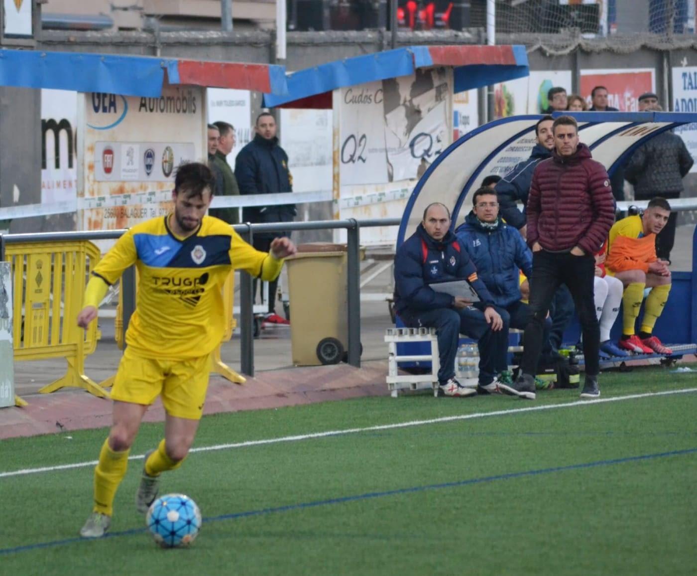 Crònica - Jornada 18 Primera Catalana: CF Balaguer 0-2  UE Tàrrega