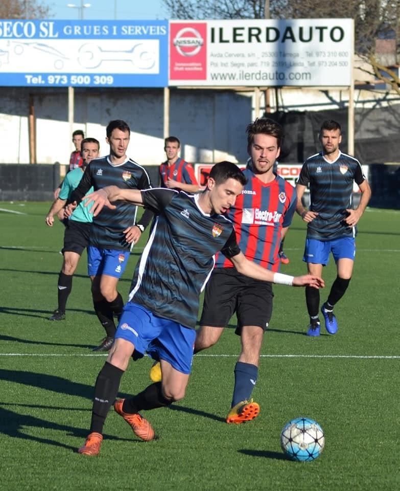 Crònica - Jornada 20  Primera Catalana:   UE Tàrrega  2-4 FC Andorra