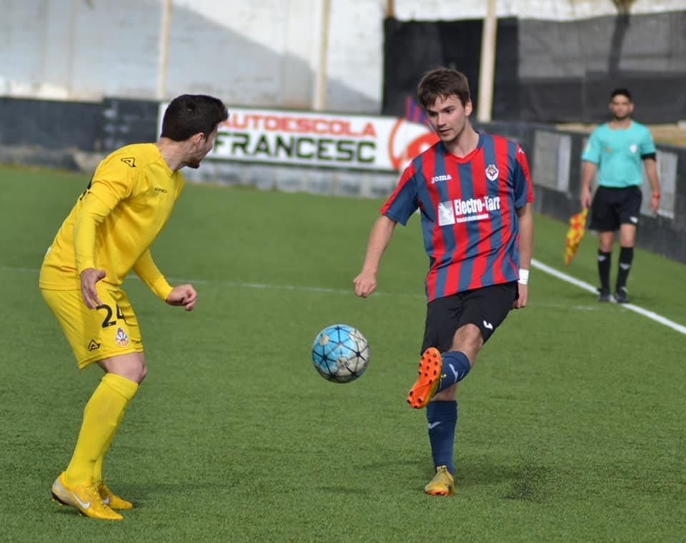 Crònica - Jornada 28  Primera Catalana: U.E.Tàrrega  1-1 CF Vilanova Geltru