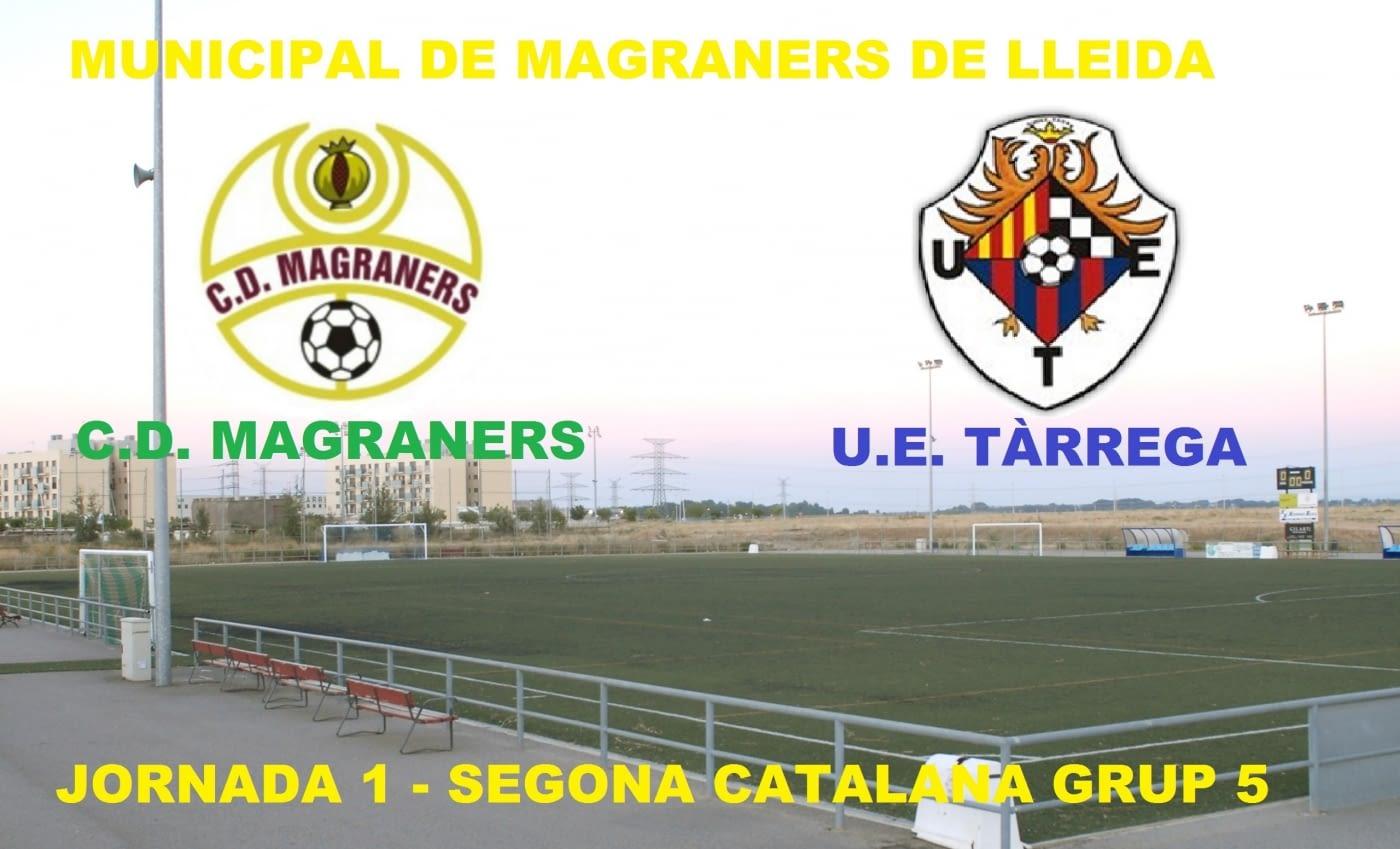 Primera prova de la lliga - Jornada 1 CD Magraners VS UE Tàrrega