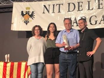 XV NIT de l'Esport Targarí Premia Per la UE Tarrega a Francesc gasull