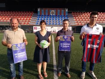 El FC Andorra, convidat de luxe al 22è Trofeu Ciutat de Tàrrega el dimecres 14 d'agost