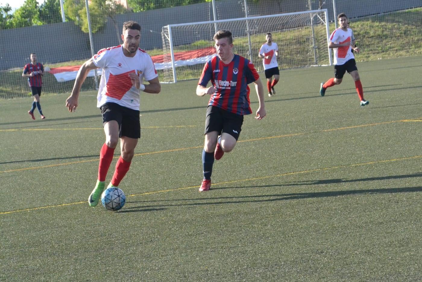 Promoció d'Ascens a Primera Catalana U.E.Rubi  1-1 U.E.Tàrrega
