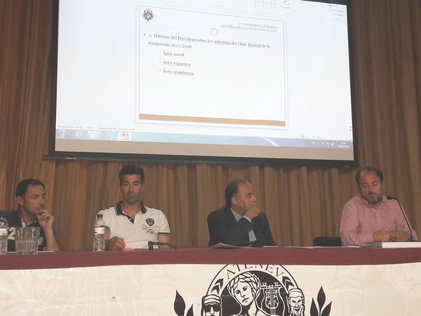 ASSEMBLEA DE LA U.E TÀRREGA