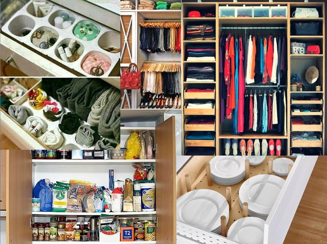 Revisa las normas, es como ordenar los armarios