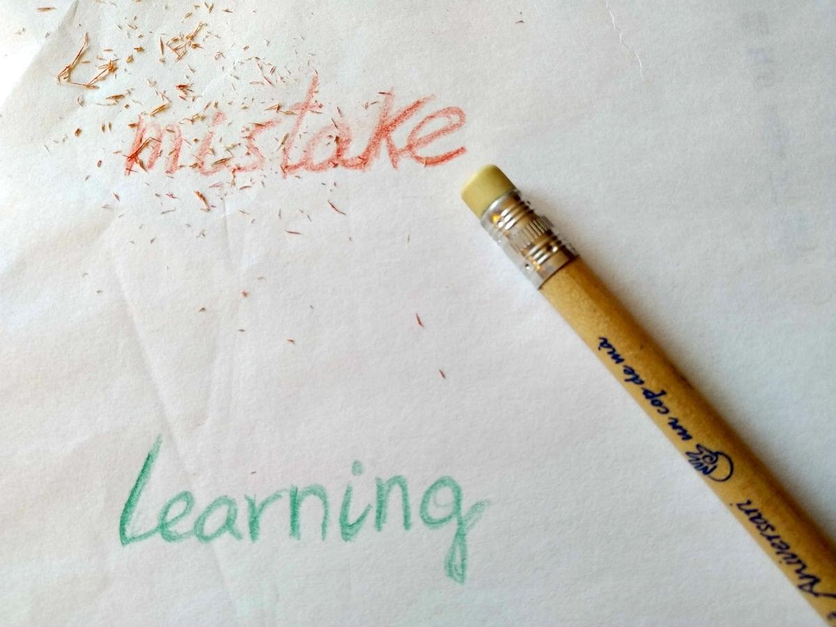 """Canvia """"errors"""" per """"aprenentatges"""""""