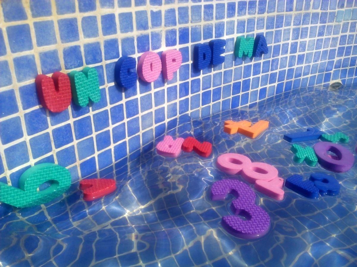 Bañaos con las letras