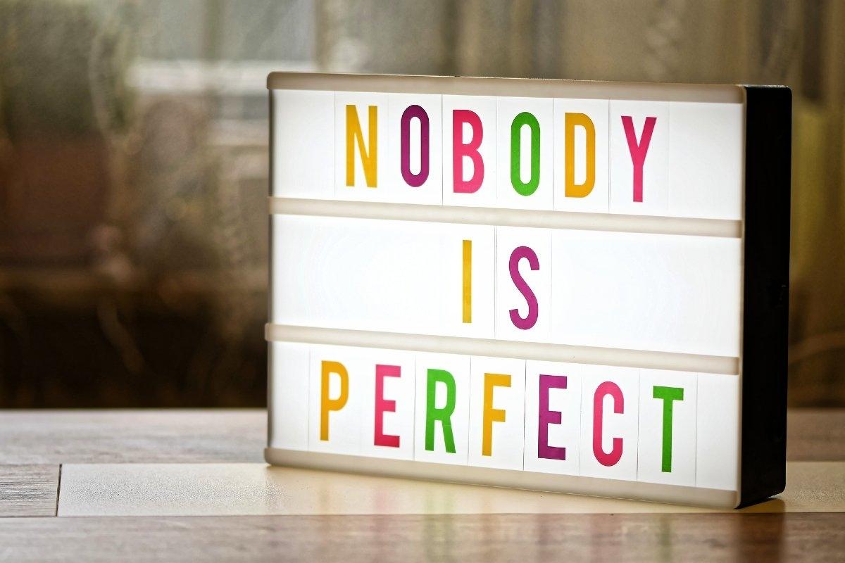 """Elimineu el """"No soc perfecte"""", no és cap argument"""