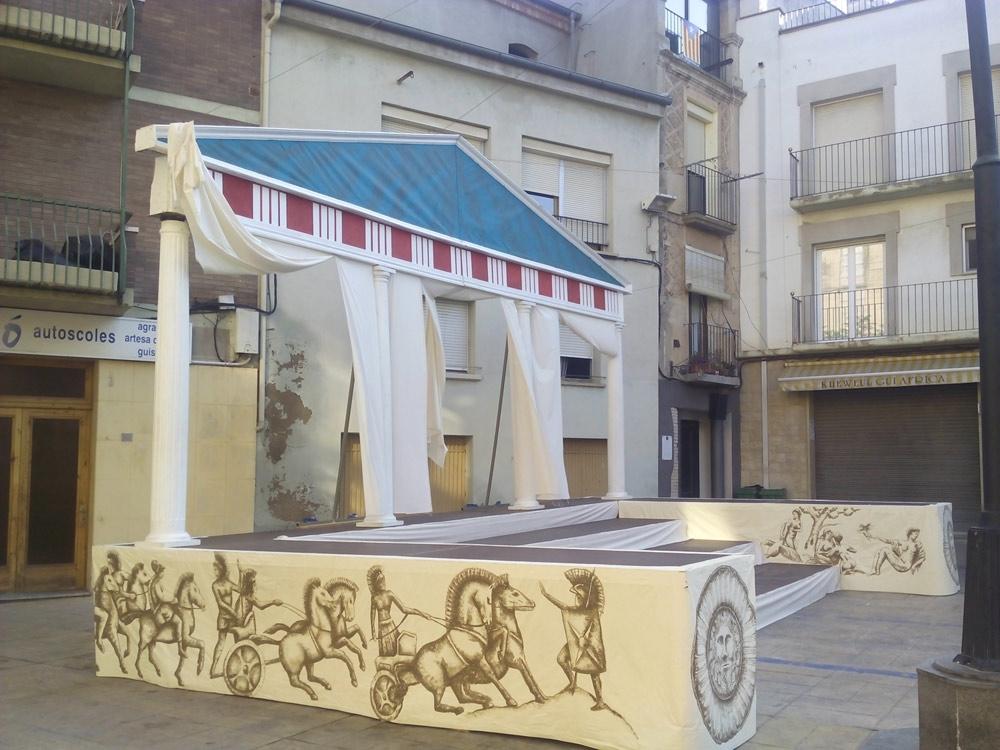 Mercat romà 2016. Educació en temps dels romans (I)