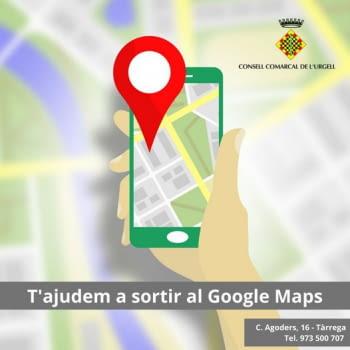 Empresa: T'ajudem a sortir al Google Maps