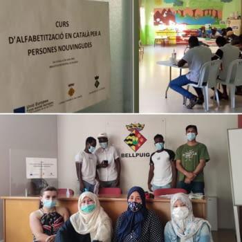32 alumnes finalitzen els cursos d'alfabetització adreçats a persones nouvingudes