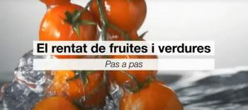 Any Internacional de les Fruites i Verdures: Avui, la desinfecció dels vegetals