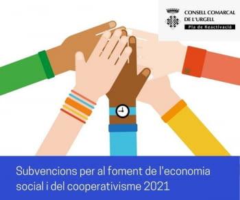 Subvencions a projectes singulars per a la reactivació socioeconòmica COVID-19 per a empreses cooperatives i de l'economia social