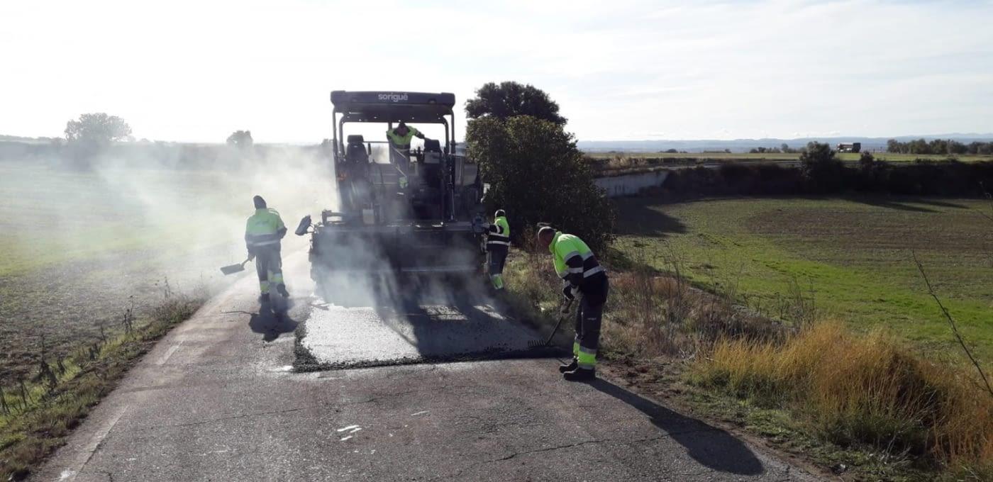 COMENCEN LES OBRES D'ARRANJAMENT DEL CAMÍ D'ACCÉS A LA CANERA COMARCAL
