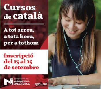 Cursos de català per a adults 2021-22 del Consorci per a la Normalització Lingüística