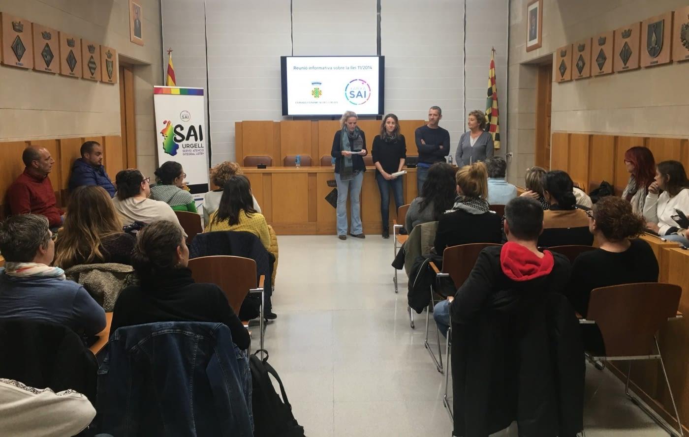 JORNADA FORMATIVA PER ALS CÀRRECS ELECTES PER GARANTIR ELS DRETS DE PERSONES LGTBI