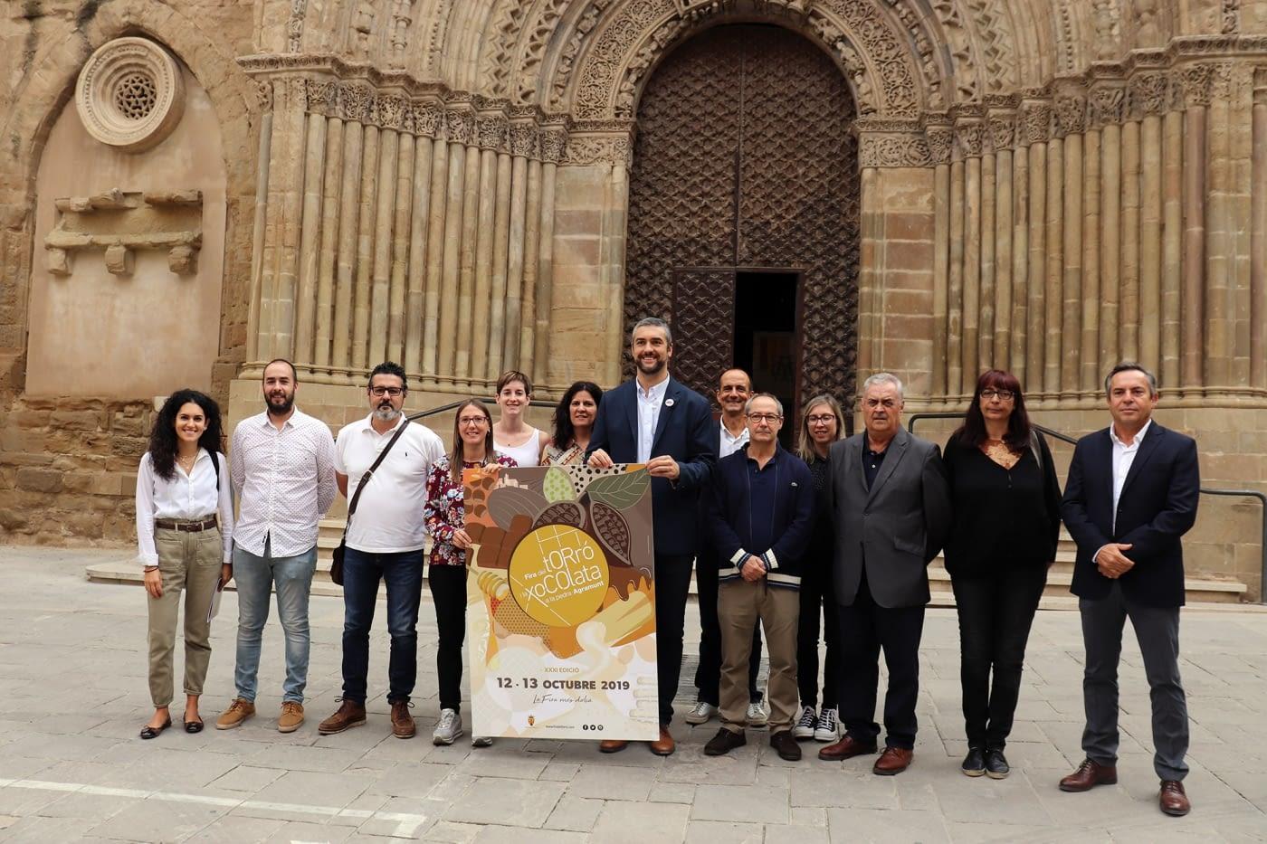 PRESENTACIÓ DE LA XXXI FIRA DEL TORRÓ I LA XOCOLATA A LA PEDRA A AGRAMUNT