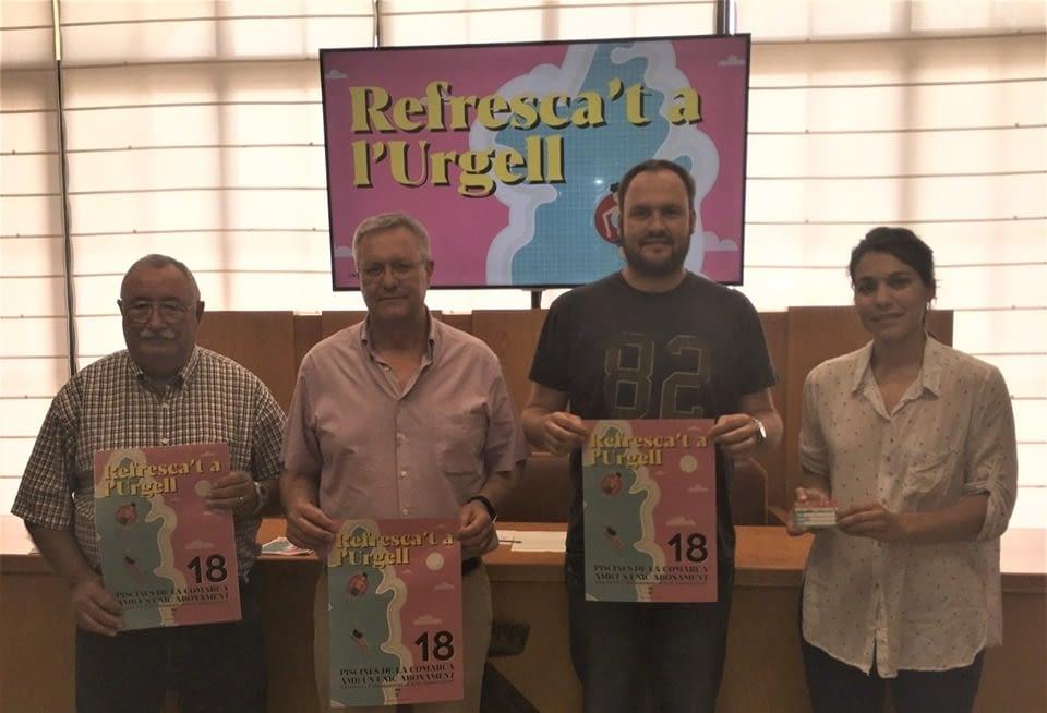 L'URGELL PRESENTA EL NOU FORFET COMARCAL DE PISCINES