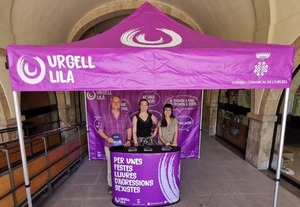 """""""URGELL LILA"""" NOU PROJECTE DEL SERVEI DE JOVENTUT DEL CONSELL COMARCAL DE L'URGELL"""