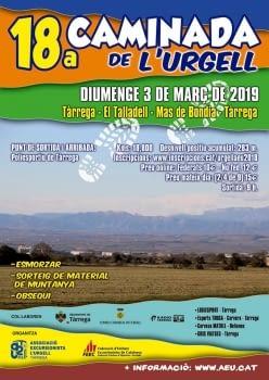 18A CAMINADA POPULAR DE L'URGELL
