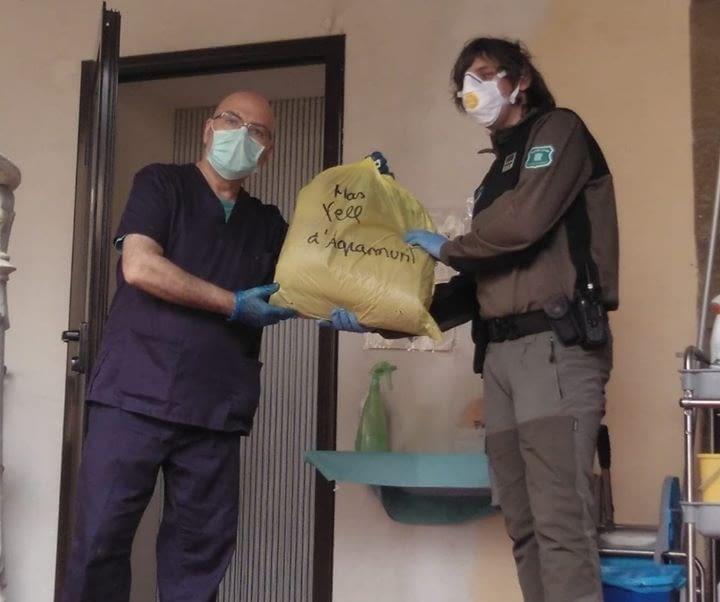Segona entrega de material sanitari a les residències de l'Urgell