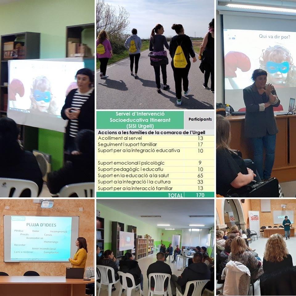 El Servei d'Intervenció Socioeducativa Itinerant (SISI Urgell)