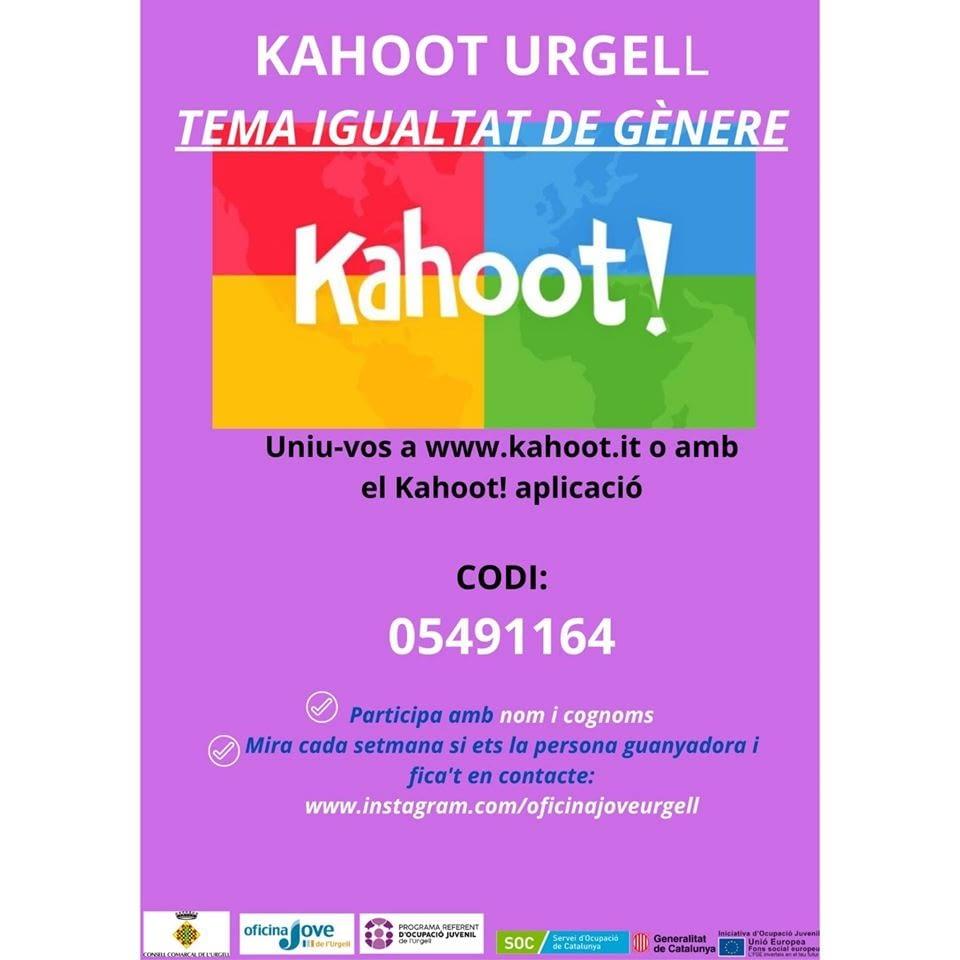 CONCURS KAHOOT URGELL, 5è tema: