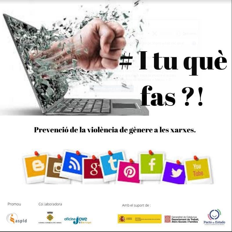 Programa de prevenció de violència de gènere a les xarxes!