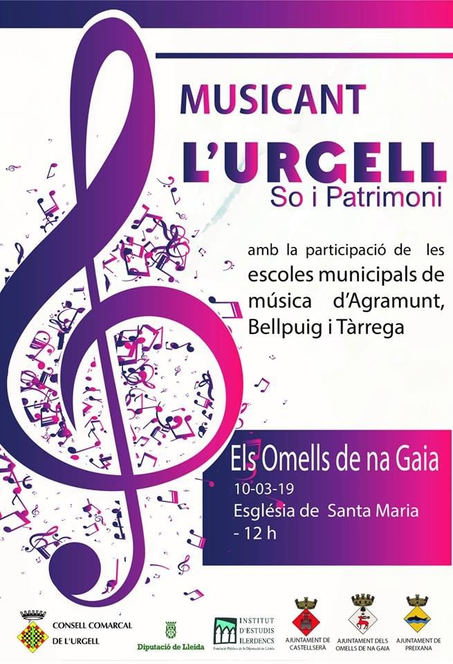 MUSICANT L'URGELL. SO I PATRIMONI