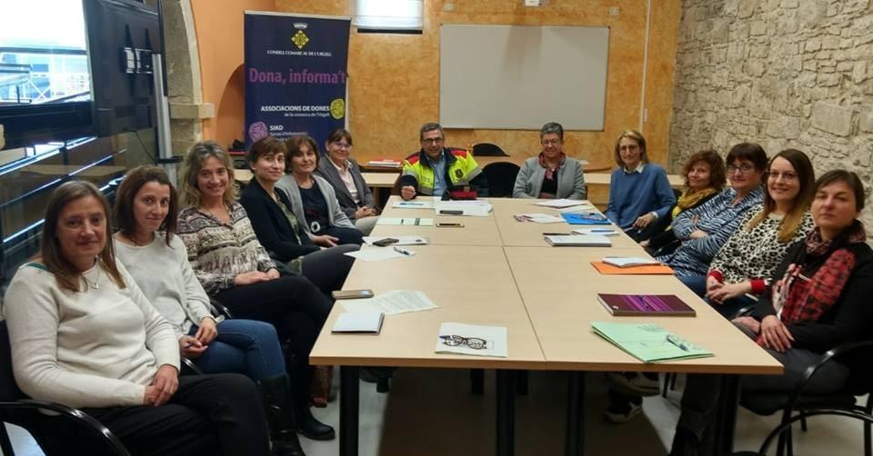 REUNIÓ DE L'EQUIP COMARCAL DE L'URGELL PER A L'ABORDATGE DE LA VIOLÈNCIA DE GÈNERE