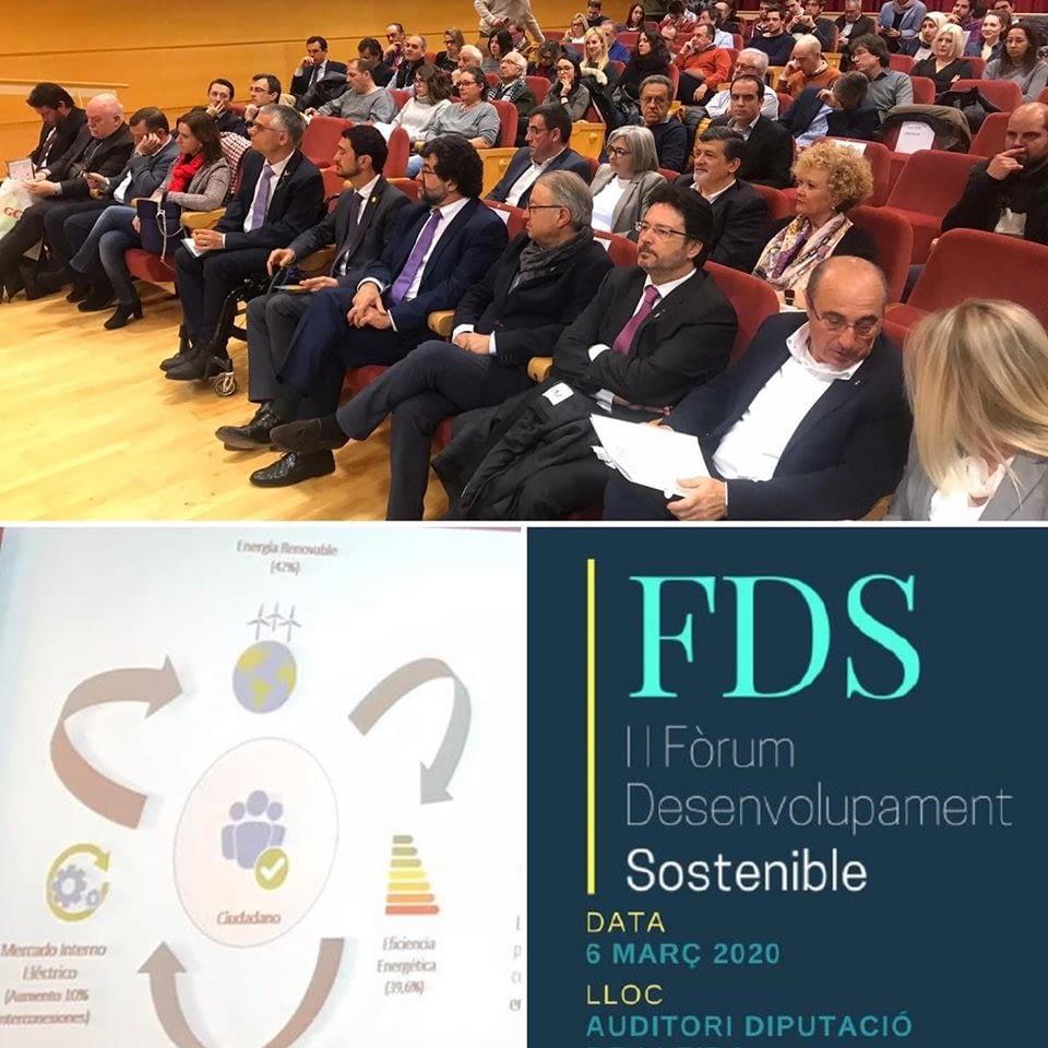 Participem al II Fòrum de Desenvolupament Sostenible