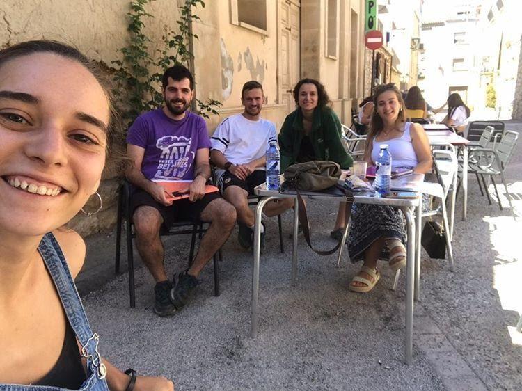 Reunió de treball amb l'Associació de Joves