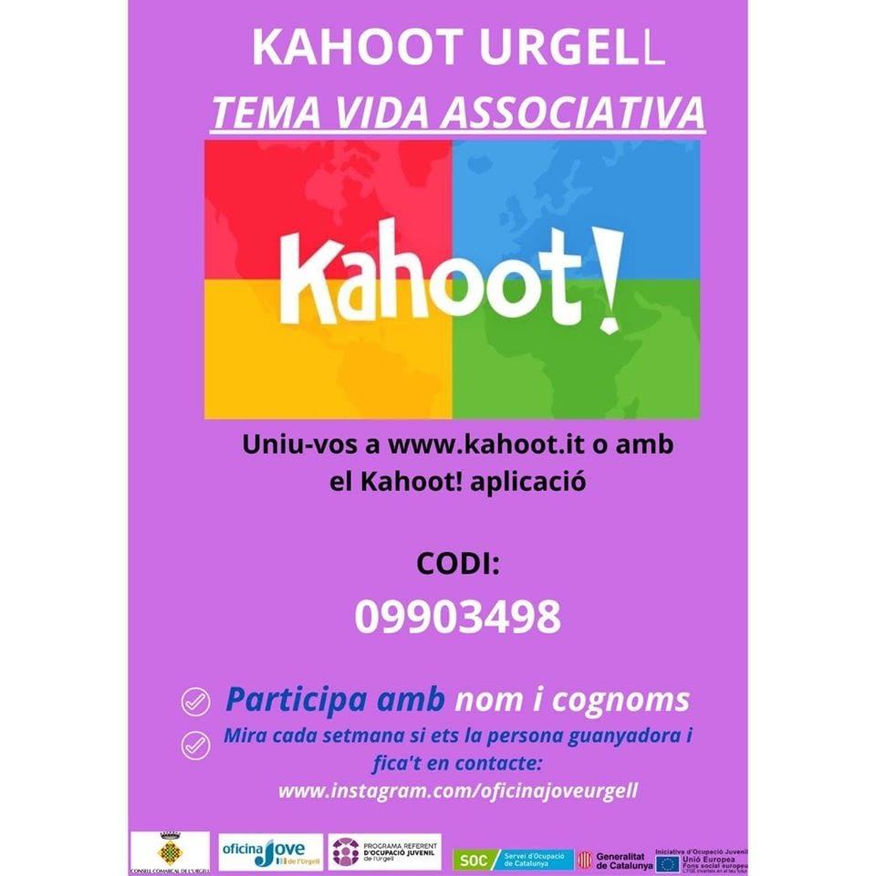 CONCURS KAHOOT URGELL