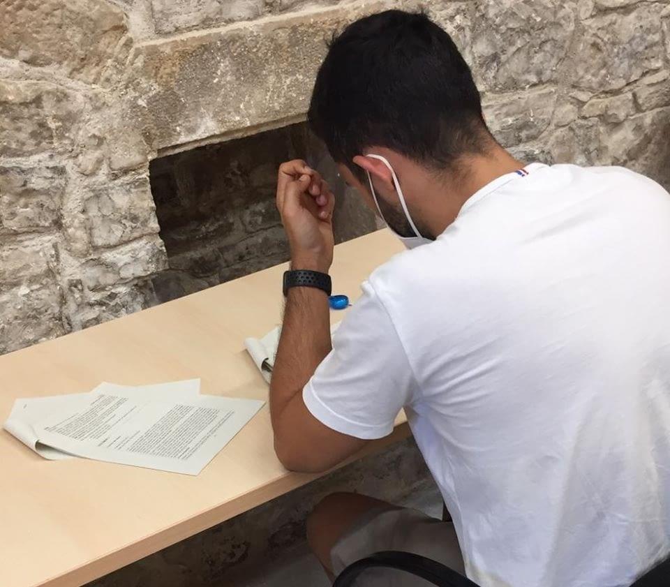 Avui s'han examinat del curs de nivell superior (C2) de llengua catalana