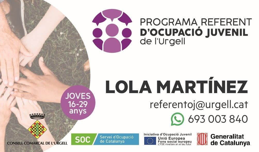 El Programa referent d'ocupació juvenil del Consell Comarcal Urgell atén una setantena de joves el primer semestre