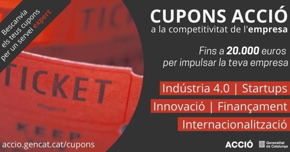 CUPONS ACCIÓ a la competitivitat de l'empresa