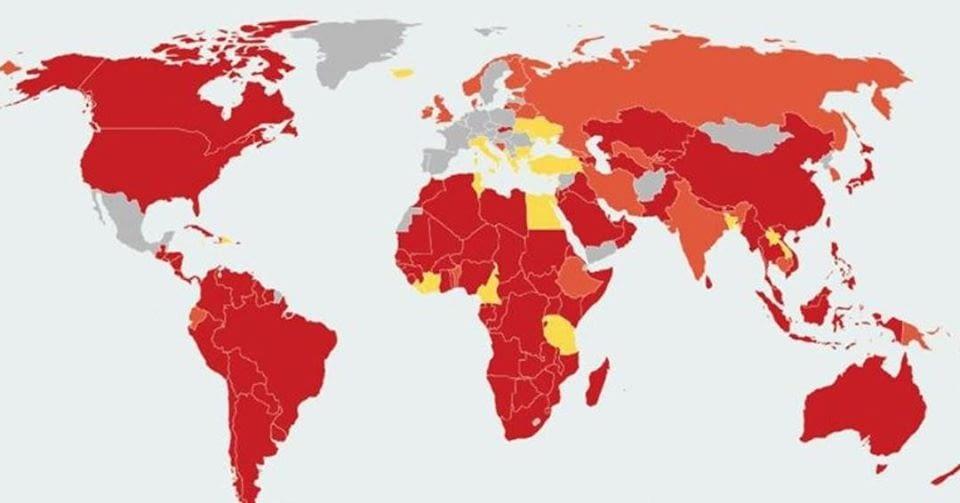 Diversos països estan fixant restriccions per viatjar-hi