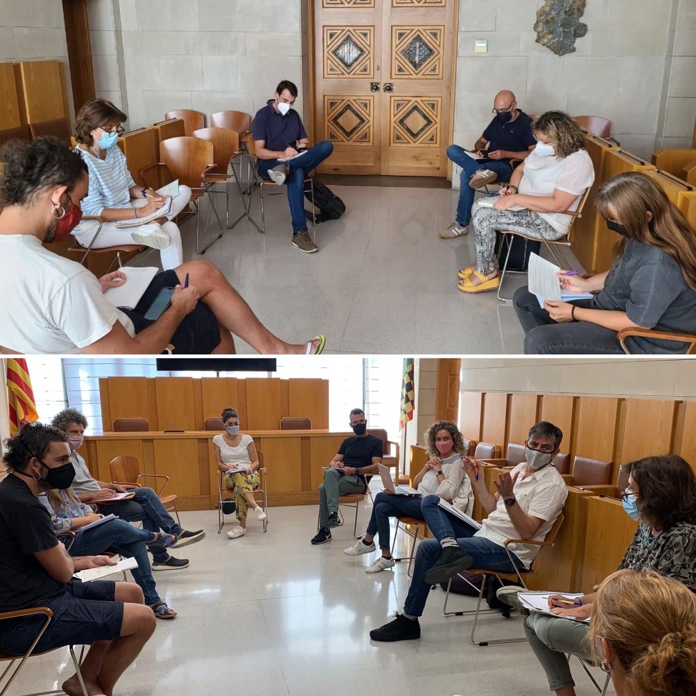 Coordinació amb les empreses de transport escolar i els directors i directores dels nstituts de l'Urgell per preparar l'inici del curs escolar