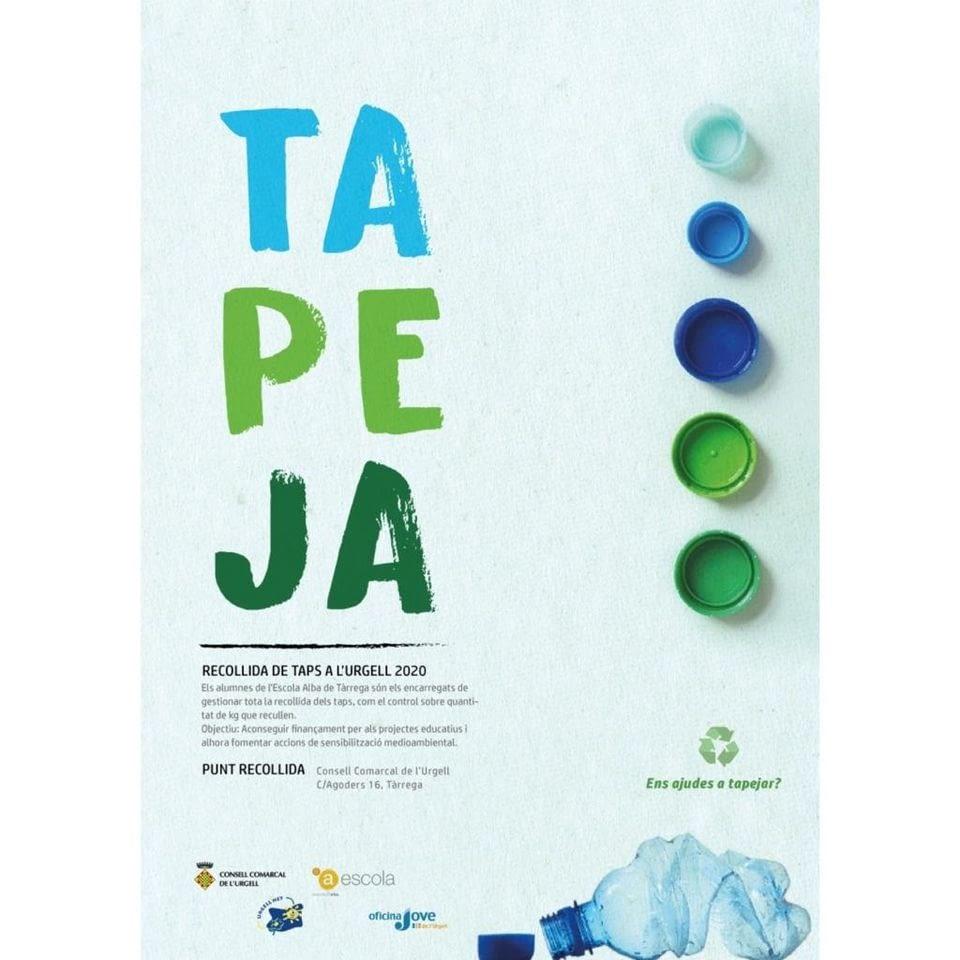 Ajuda'ns a reciclar taps de plàstic pel projecte