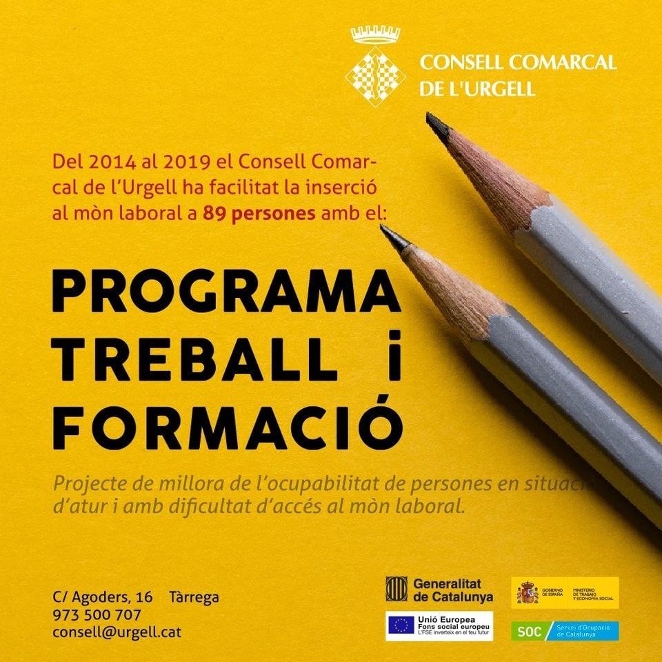 Programa treball i formació