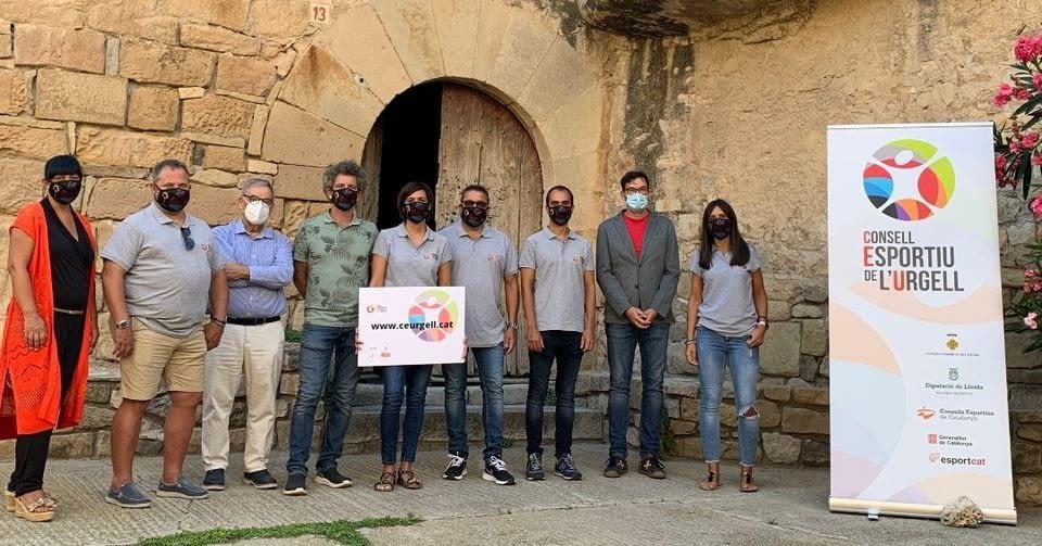 Presentació de la nova imatge del Consell Esportiu de l'Urgell al Castell de Rocafort de Vallbona