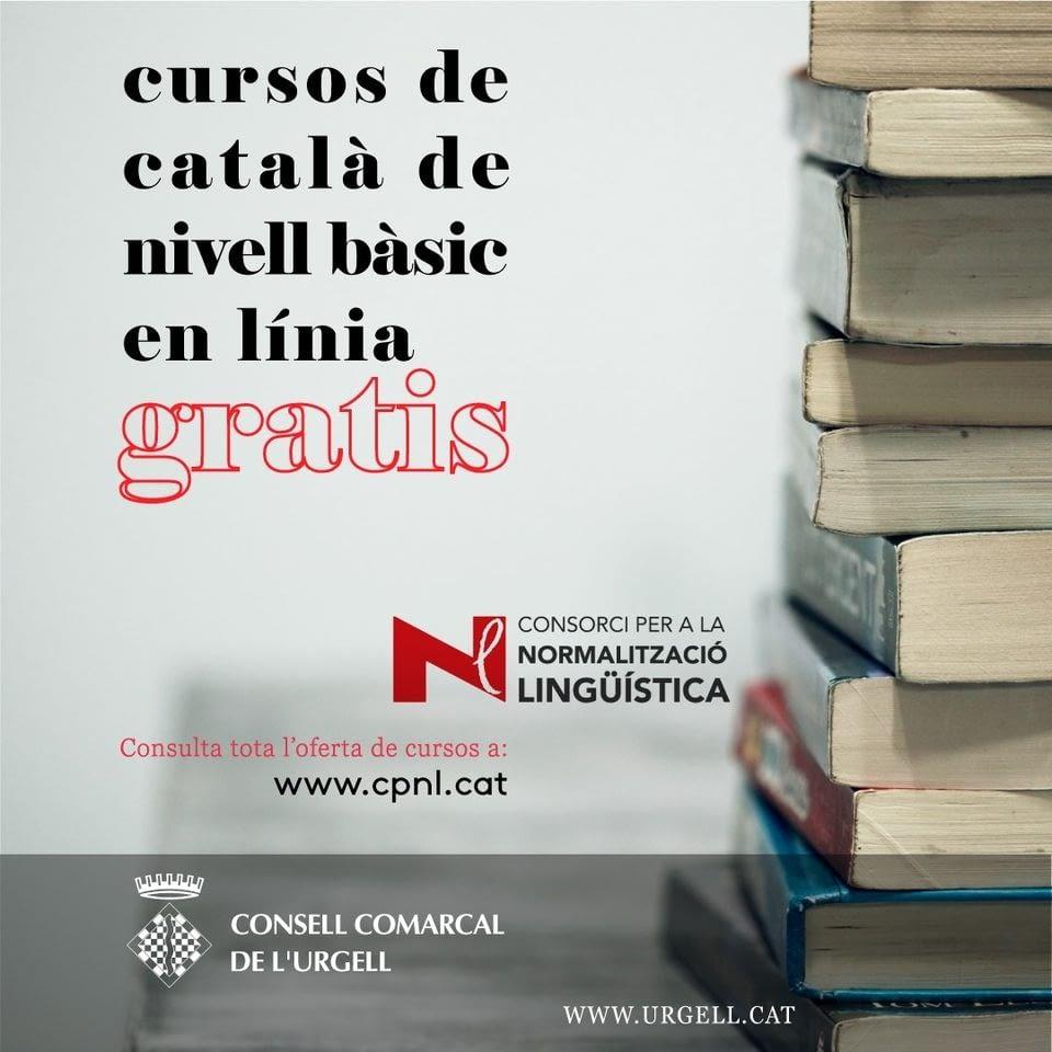 Cursos de català de nivell bàsic en línia gratis!