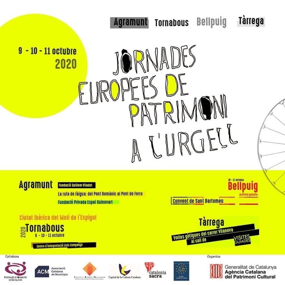 Jornades Europees del Patrimoni a l'Urgell