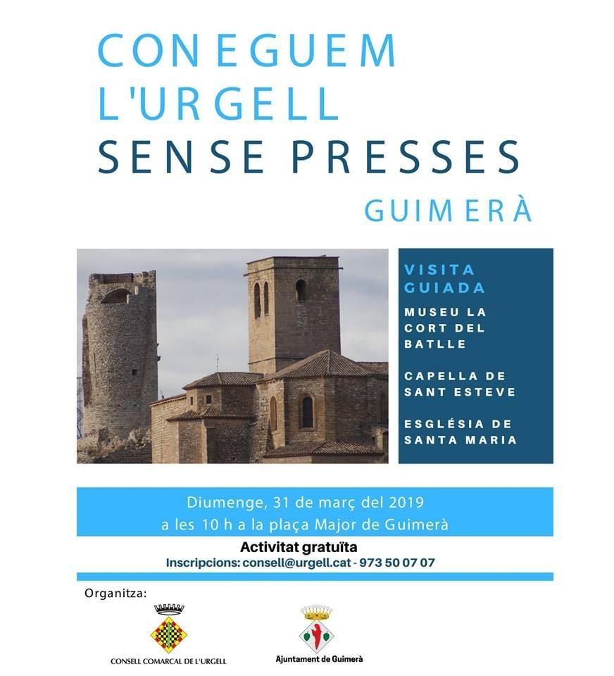 CONEGUEM L'URGELL SENSE PRESSES