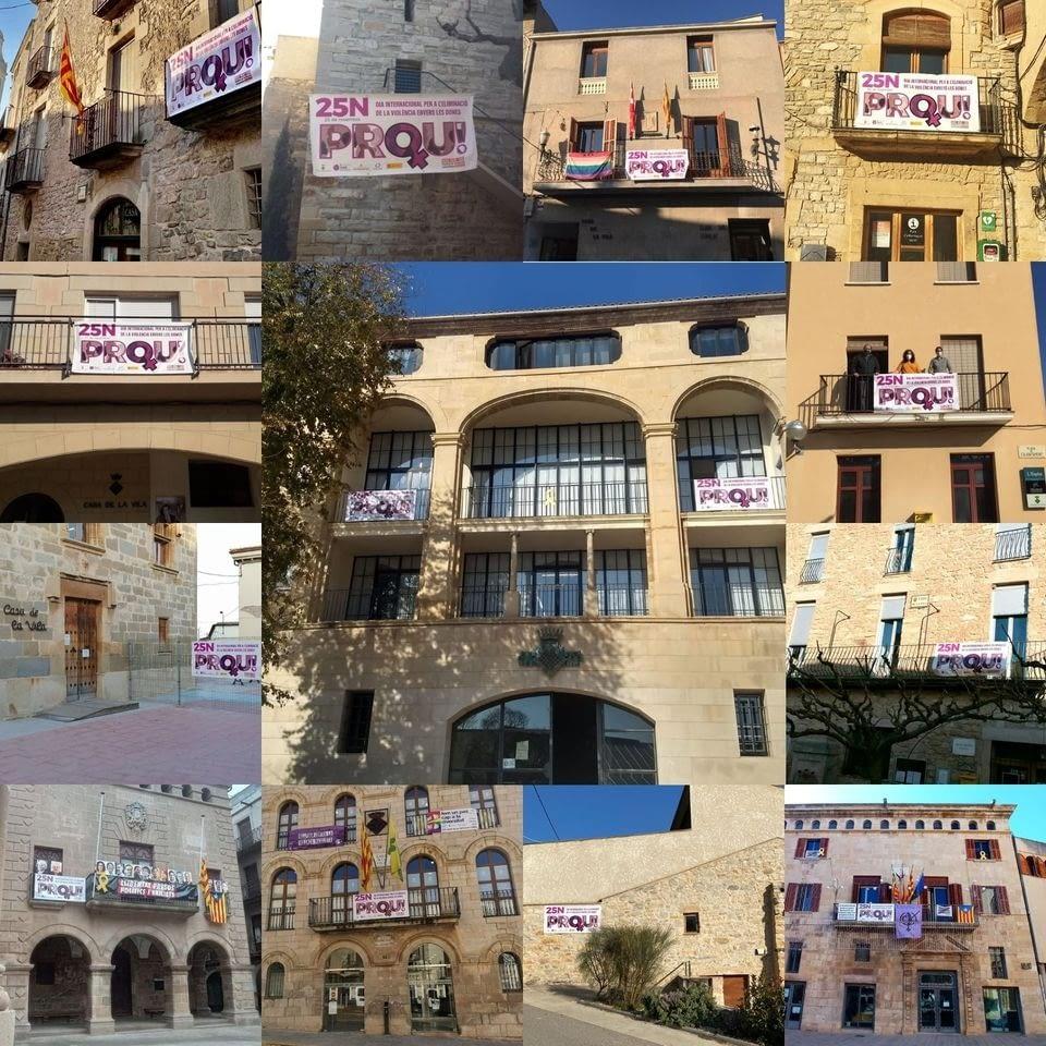 A l'Urgell diem PROU a les violències masclistes!