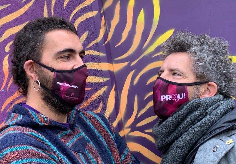 El Servei de Joventut se suma al al Dia Intenacional del 25N amb la creació d'aquestes mascaretes