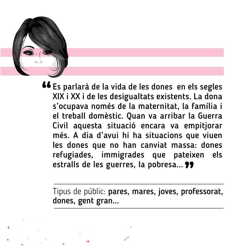 Continuem amb els actes de commemoració del 25N a l'Urgell
