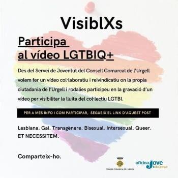 Iniciem la campanya Visiblxs