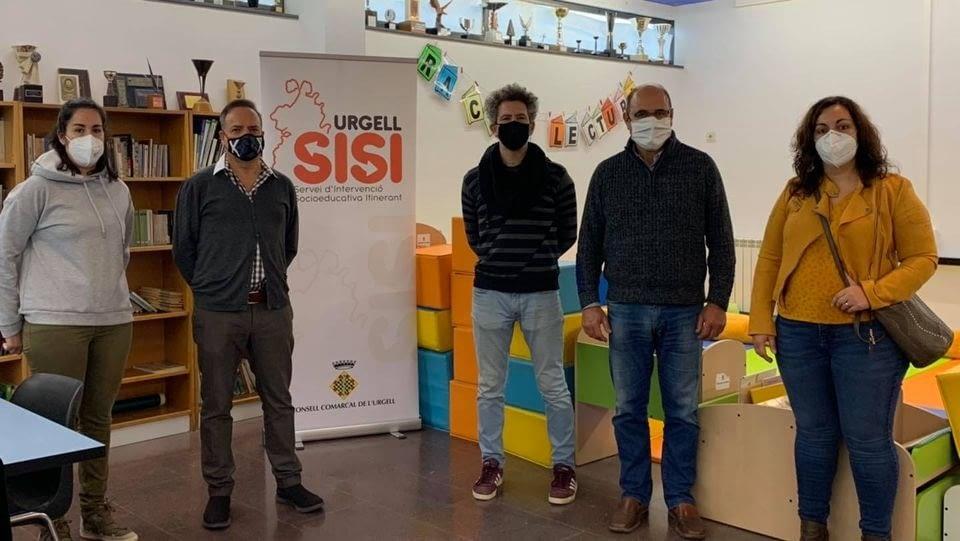 Visita a l'espai del SISI Urgell