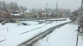11 de gener, suspès el transport escolar